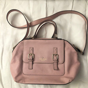 Nice Kate Spade Double Buckle Bag Purse in Pink
